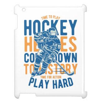 Time to Play Hockey IPAD/IPAD MINI, IPAD AIR CASE iPad Covers