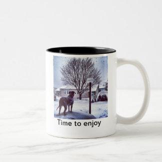 Time to play Two-Tone coffee mug