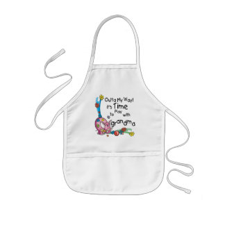 Time to Play with Grandma Apron