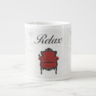 Time to Relax! Large Coffee Mug