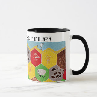 Time To Settle! mug is just the thing to game by!