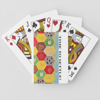 Time to Settle Playing Cards