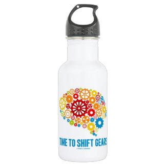 Time To Shift Gears (Gears Brain) 532 Ml Water Bottle