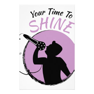 Time To Shine Stationery