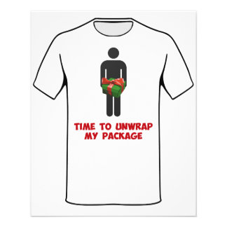 Time to Unwrap My Christmas Package 11.5 Cm X 14 Cm Flyer