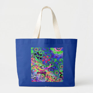Time to Weed Large Tote Bag