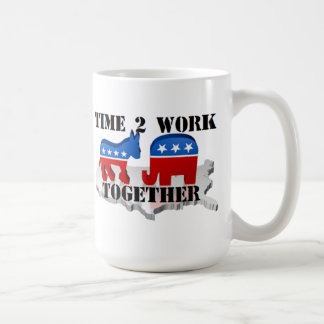 Time to Work Together Mug