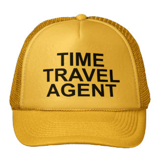 """Time Travel Agent"" Hat"