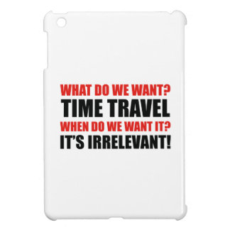 Time Travel iPad Mini Case