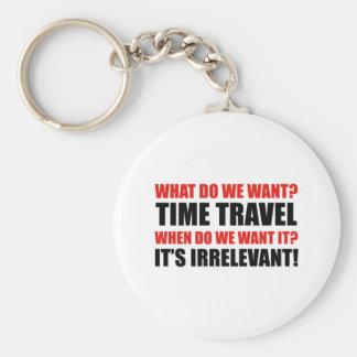 Time Travel Key Ring