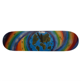 Time travel skate deck