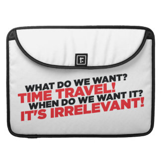 Time Travel Sleeve For MacBook Pro