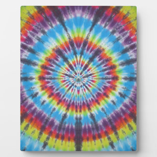 Time Travel Tunnel Tie Dye Plaque