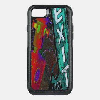 Time Traveler Otterbox by Violet Tantrum OtterBox Commuter iPhone 8/7 Case