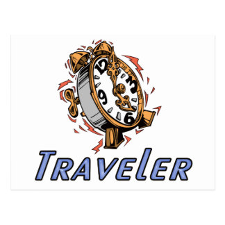 Time Traveler Postcard