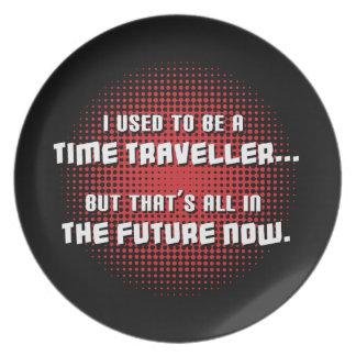 Time Traveller Dinner Plate