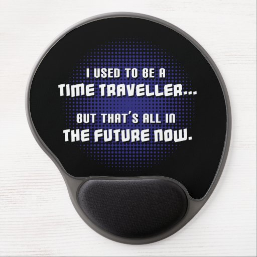 Time Traveller Gel Mouse Pad