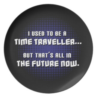 Time Traveller Party Plate