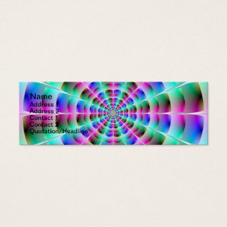 Time Tunnel in Blue and Pink Card