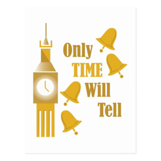Time Will Tell Postcard