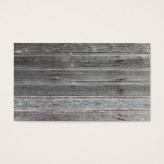 Time-Worn (weathered) Wooden Wall Calling Card