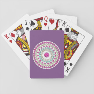 Time Zone Diagram of Mechanical Clock Dials Playing Cards