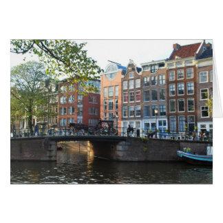Timeless - Bridge in Amsterdam Card