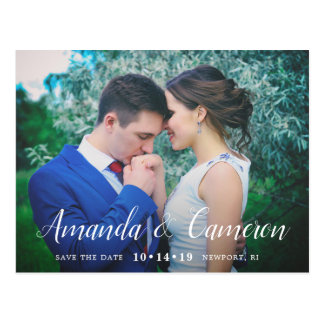 Timeless Love | Photo Save the Date Postcard