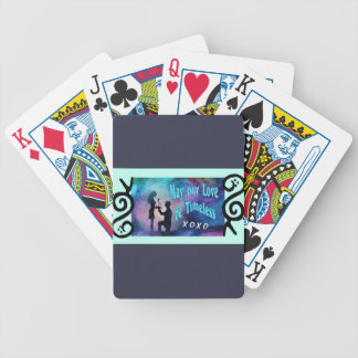 Timeless Luv Bicycle Playing Cards
