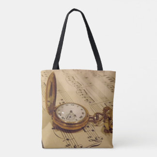 Timeless Music Tote Bag