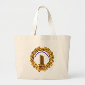 timepatience large tote bag