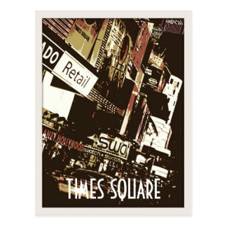 Times Square Art Postcards