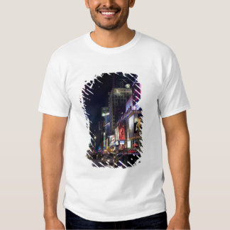 Times Square at night in Manhattan, New York Tshirt