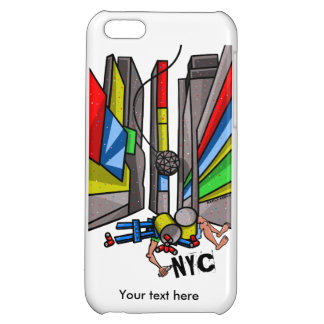 Times Square Ball Drop Funny Cartoon iPhone 5C Case