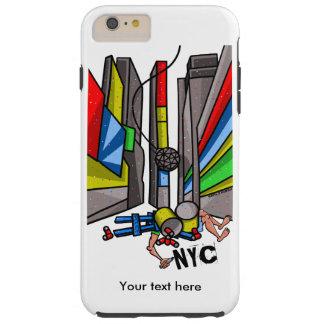 Times Square Ball Drop Funny Cartoon Tough iPhone 6 Plus Case