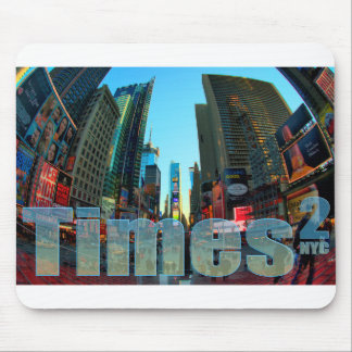 Times Square Broadway New York City, New York Mouse Pad