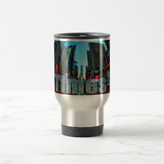 Times Square Broadway New York City, New York Travel Mug