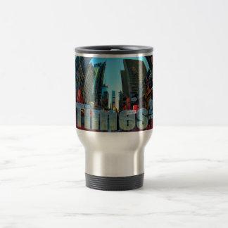 Times Square Broadway New York City, New York Travel Mug