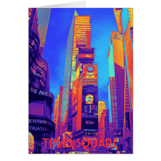 TIMES SQUARE CARD