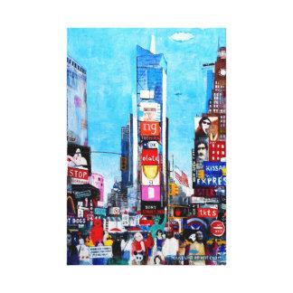 Times Square II Canvas Print