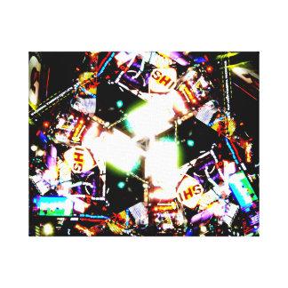 Times Square Kaleidoscope Canvas Print