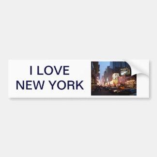 Times Square New York Bumper Sticker
