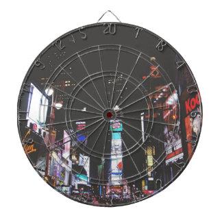 Times Square New York City Dartboard