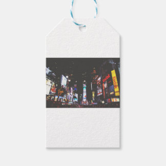 Times Square New York City Gift Tags