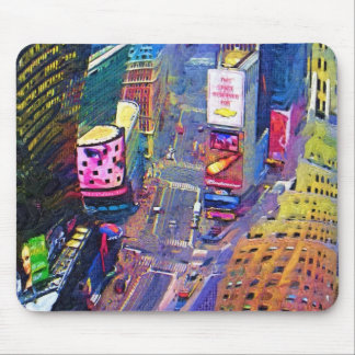 Times Square New York City Mouse Pad