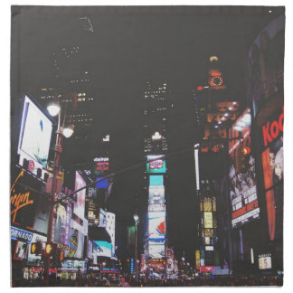 Times Square New York City Napkin
