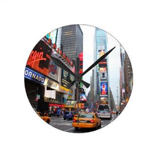 Times Square, New York City, USA Round Clock