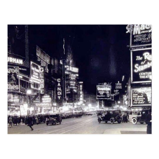 Times Square, New York City Vintage Postcard