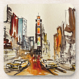 Times Square New York Coaster set of 6