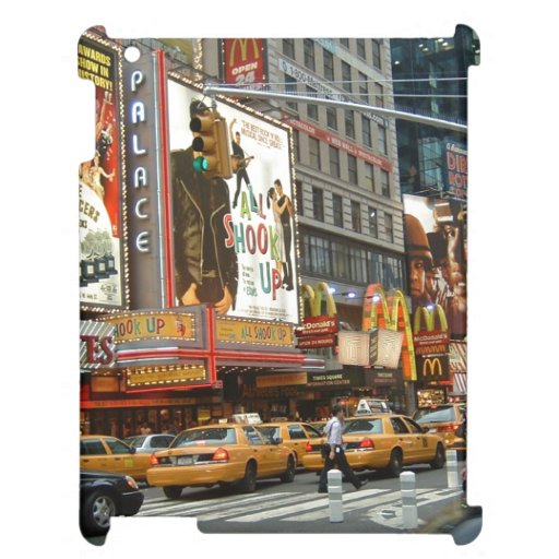 Times Square NY Case For The iPad 2 3 4